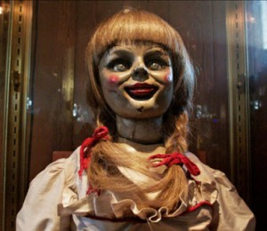 Creepy doll from The Conjuring