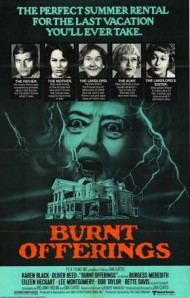 Burnt Offerings movie poster