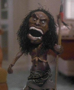 Trilogy of Terror African doll
