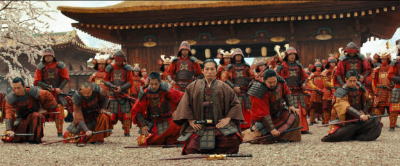 Image of the 47 ronin from the movie