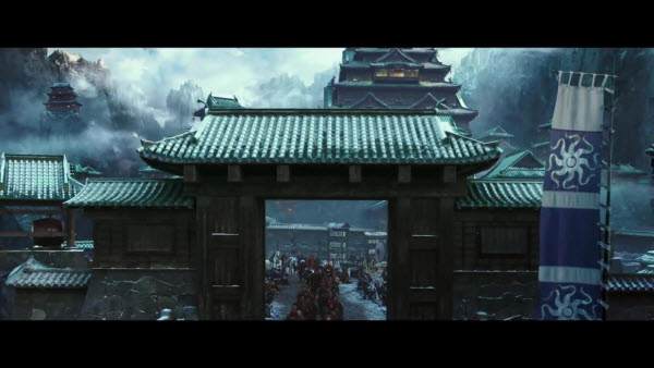 City scene from 47 Ronin