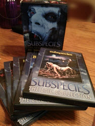 5 videos in the Subspecies box set