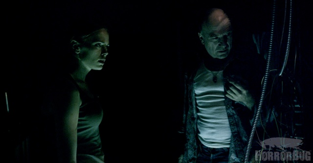 Katia Winter and Michael Levine in Banshee Chapter