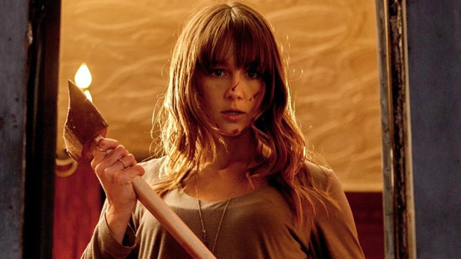 Sharni Vinson wields an axe in You're Next