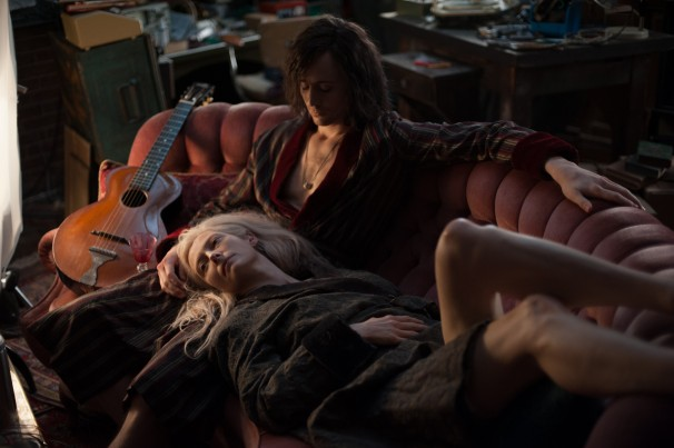 Adam and Eve on the couch in Only Lovers Left Alive