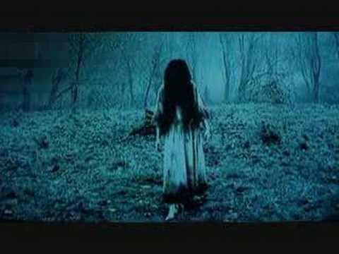 Still shot of creepy girl from The Ring