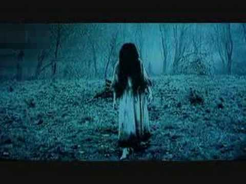 Still shot of creepy girl from The Ring
