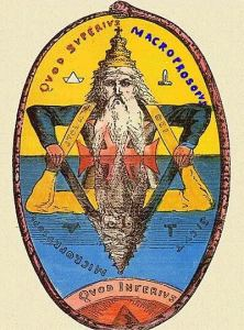 "Alchemical image for ""as above so below"""
