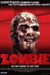 Movie poster for Lucio Fulci's Zombie